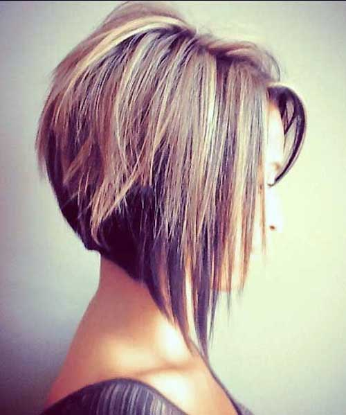 Inverted Bob Two Colored Hairstyles
