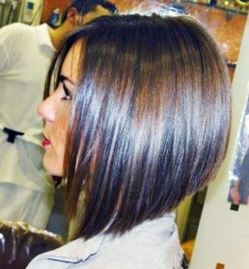 Long Graduated Dark Bob