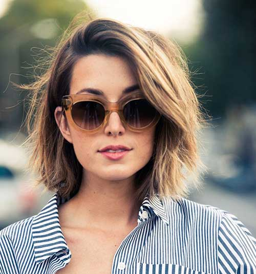 Girls Casual Medium Bob Hairstyles