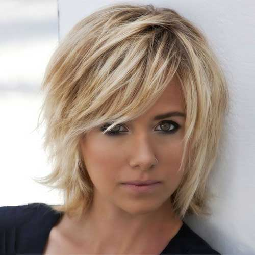 Girls Layered Bob Hairstyles