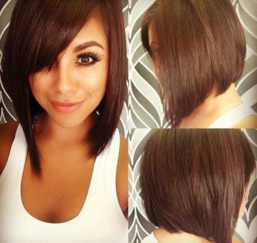 Girls Long Bob Hairstyles