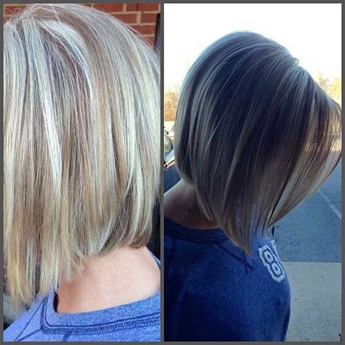 Medium Bob for Girls Back View