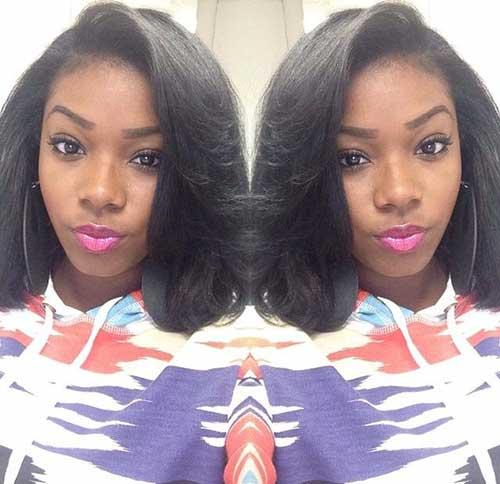 Stylish Black Girl Bobs Hairstyles
