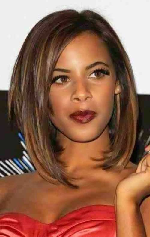 Black Girl Long Bob Hairstyles 2014-2015