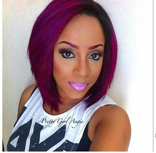 Black Girls Red Bob Hairstyles