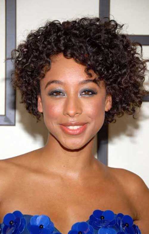 Short Curly Bob for Black Girls 2014-2015