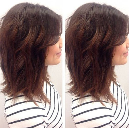Long Layered Bobs