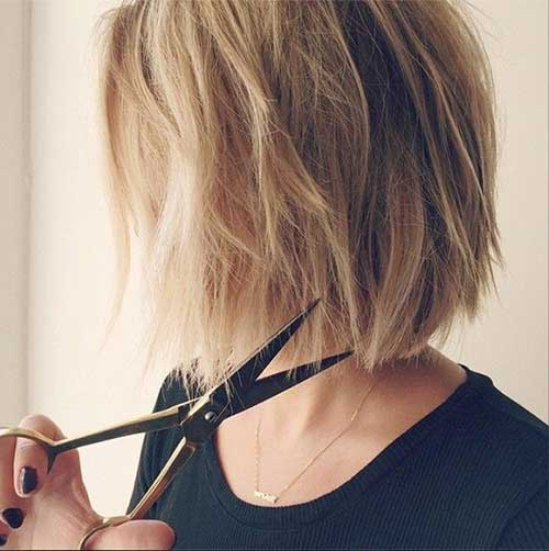 Lauren Conrad's New Cute Short Hairstyle