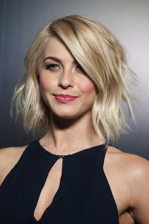 Julianne Hough Short Choppy Hair