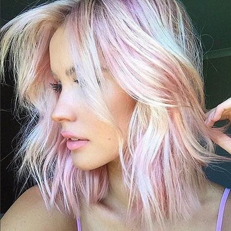 Blonde Layered Bob Hairstyles
