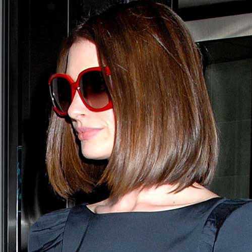Anne Hathaway Bob Hairstyles