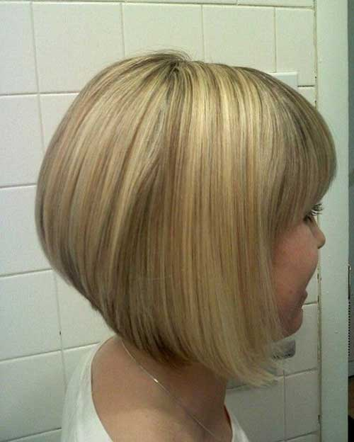 Nice Graduated Bob Haircut