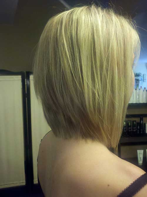 Graduated bob haircut hairstyle