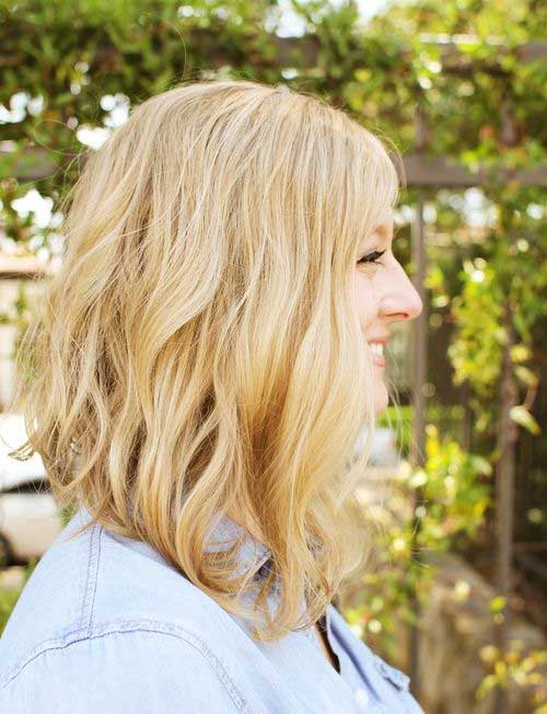 Long Angled Bobs Hairstyles