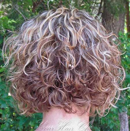 Pleasing Short Curly Bobs 2014 2015 Bob Hairstyles 2015 Short Hairstyle Inspiration Daily Dogsangcom