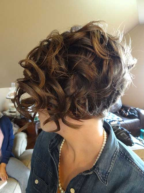Outstanding Short Curly Bobs 2014 2015 Bob Hairstyles 2015 Short Hairstyles For Men Maxibearus