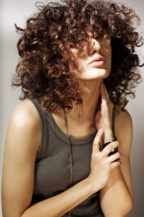 Cool Short Curly Bobs 2014 2015 Bob Hairstyles 2015 Short Hairstyle Inspiration Daily Dogsangcom