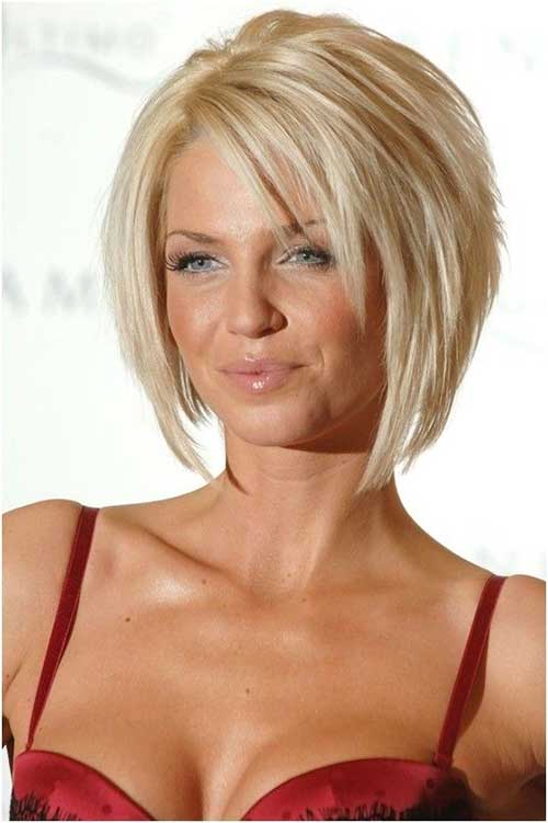 Layered Short Bob Haircuts