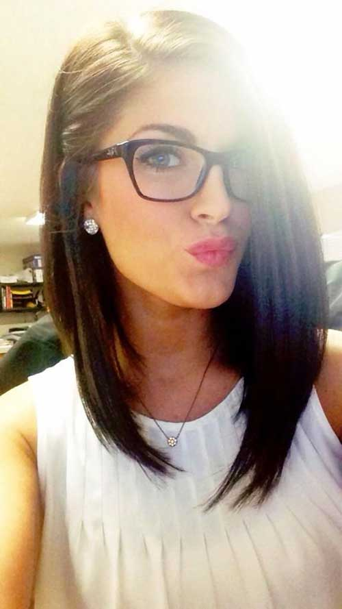 Phenomenal 20 Inverted Long Bob Bob Hairstyles 2015 Short Hairstyles For Hairstyle Inspiration Daily Dogsangcom