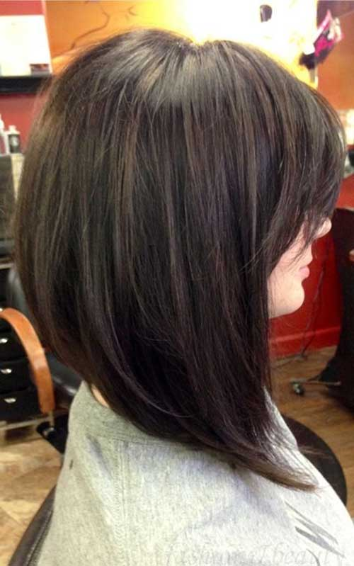 Long Swing Bob Haircuts