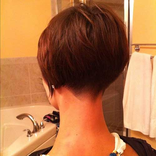 Shaved Nape Bob Haircuts With Bangs | newhairstylesformen2014.com
