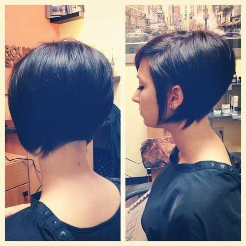 Short Bob Hairstyles 2015 Back View