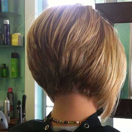 10 Bob Stacked Hairstyles | Bob Hairstyles 2015 - Short Hairstyles for