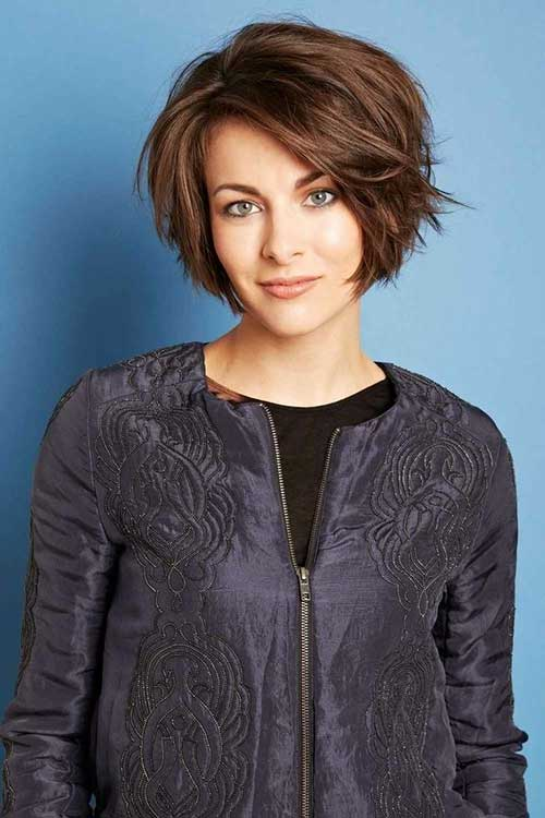 10 Best Layered Short Bob Haircuts Bob Hairstyles 2018 Short