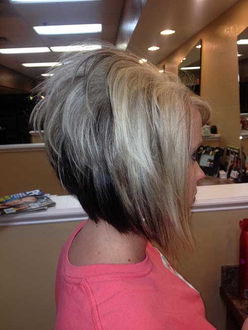 Short Stacked Bob Haircuts