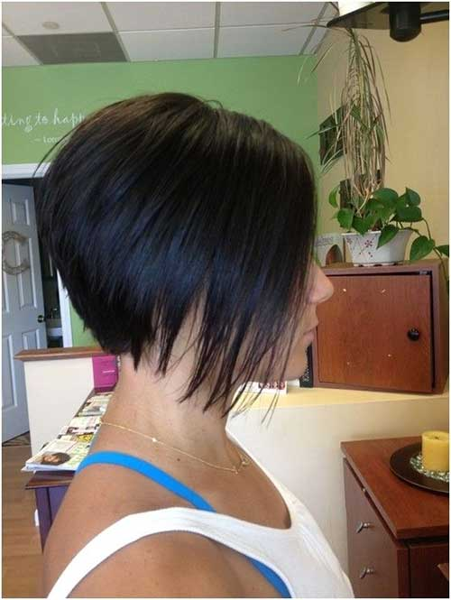 Short a Line Bob Hairstyles