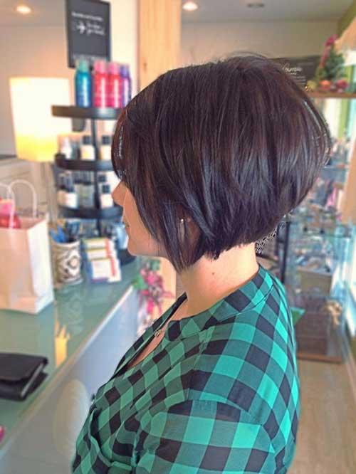 10 Bob Stacked Hairstyles | Bob Hairstyles 2018 - Short Hairstyles ...