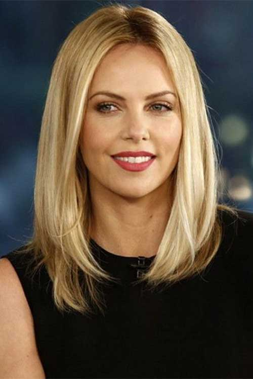 Straight Long Bob Haircut