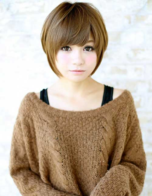 Cute Asian Bob Chin Lenght