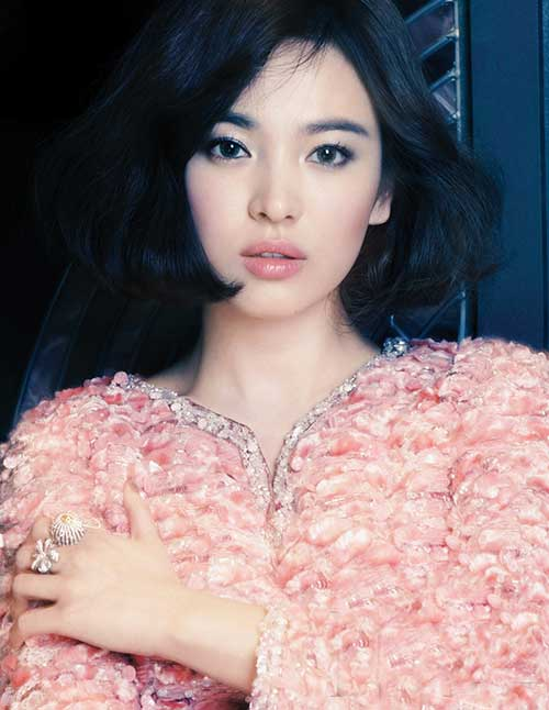 Song Hye-kyo Bob Hairstyle