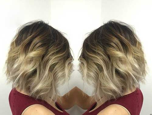 Best Balyage Ombre Short Hair