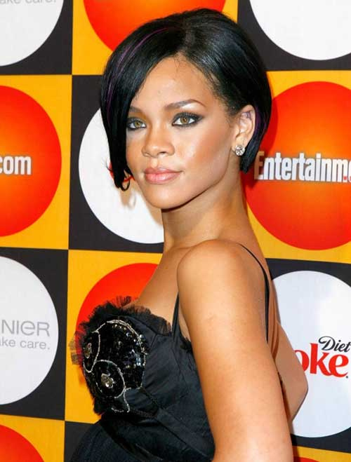 Best Rihanna Bob Hair
