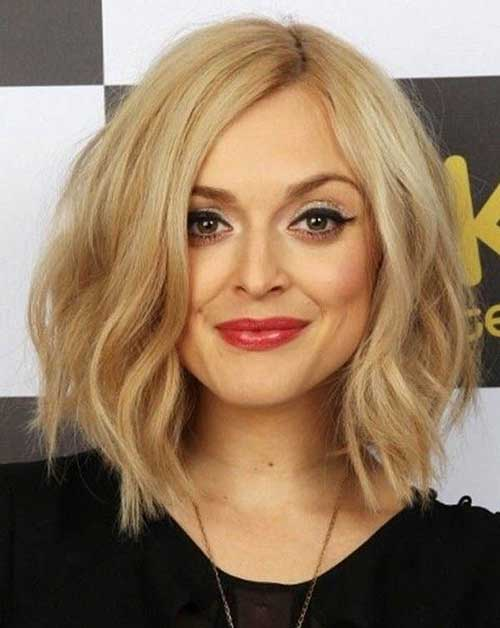 New Blonde Layered Medium Length Hairstyles