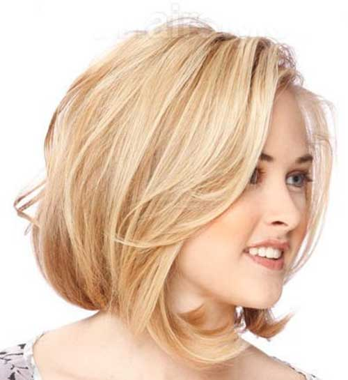 Surprising 15 Best Bob Cut Hairstyles For Round Faces Bob Hairstyles 2015 Hairstyles For Women Draintrainus