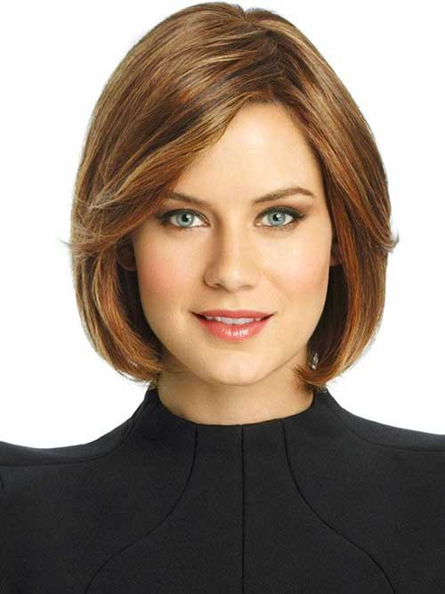 Enjoyable 15 Best Bob Cut Hairstyles For Round Faces Bob Hairstyles 2015 Hairstyles For Women Draintrainus