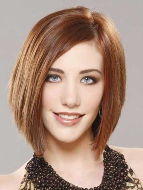 Bob Hairstyles for Long Oval Face