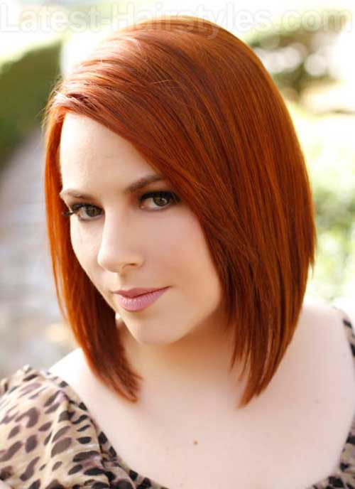 Cute Bob Hairstyles for Oval Faces
