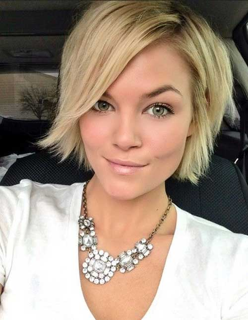 Bob Hairstyles with Side Bangs for Summer