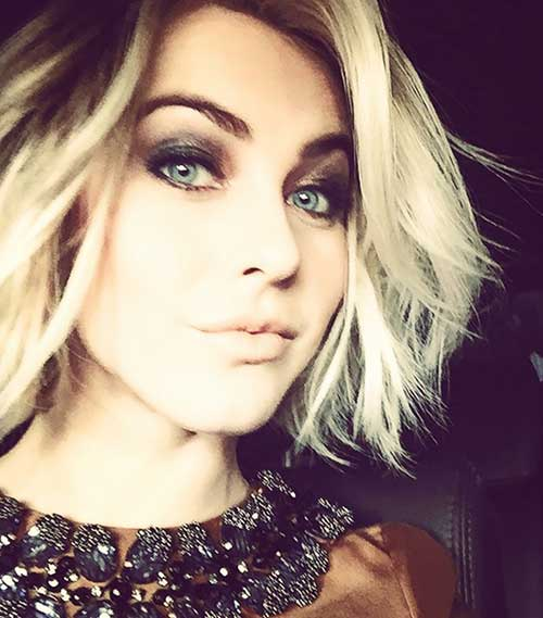 Julianne Hough Bob Cut