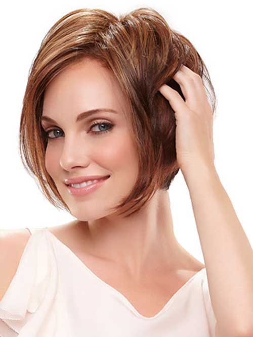 Chic Layered Bob Hairstyles Idea