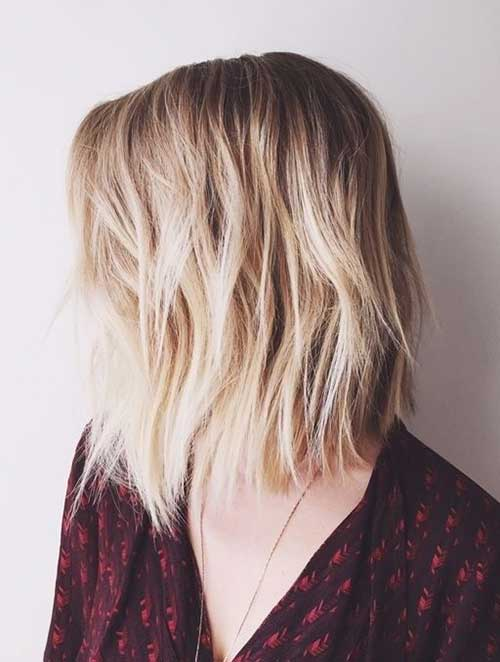 Choppy Bob Hairstyles 2015