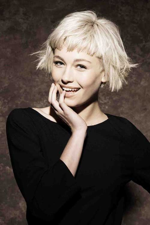 with Hairstyles For Short To Medium Length Hair furthermore Short ...
