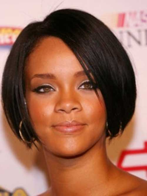 Cute Bob Hairsyles Rihanna