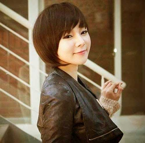 Cutest Bob Idea for Chinese Women 2014-2015