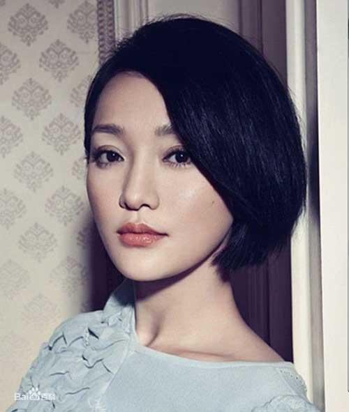Dark Bob Idea for Chinese Women 2014-2015