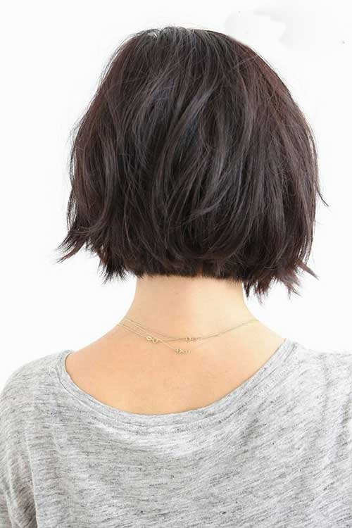 Dark Short Hairstyles for 2015